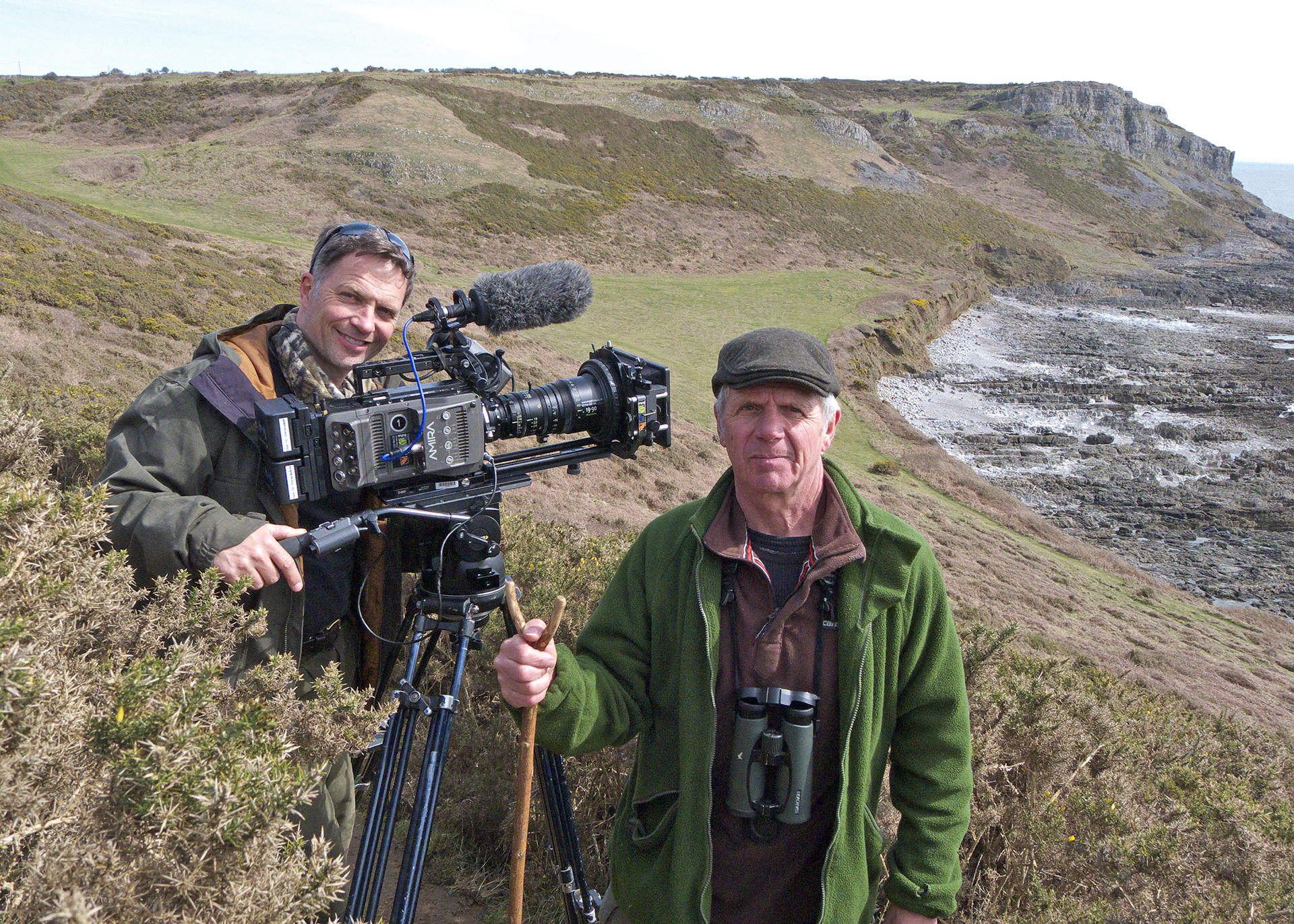BBC SpringWatch on the Gower with Mark Payne-Gill