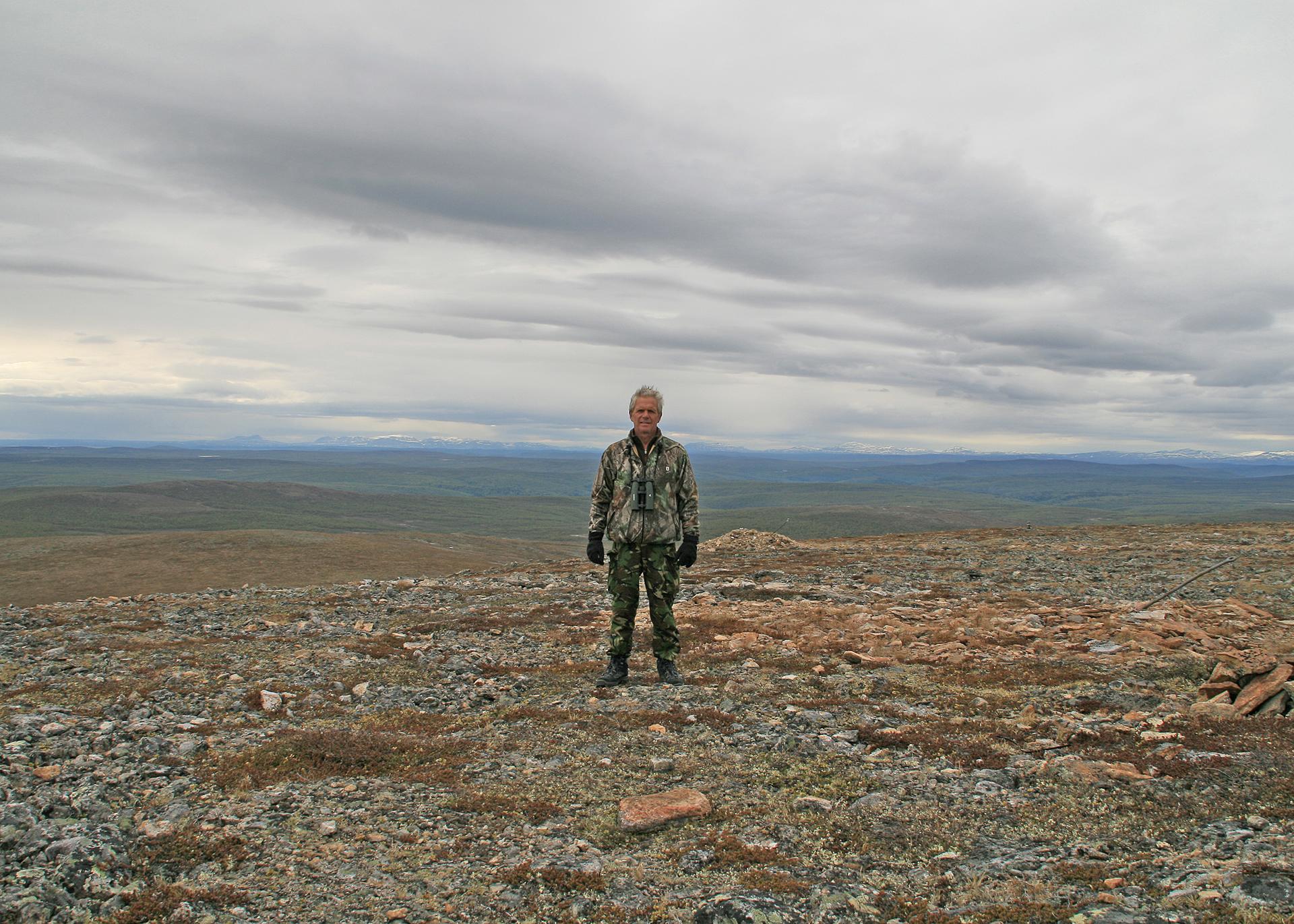 Mount Ailegas Karigasniemi Finland, June 2010