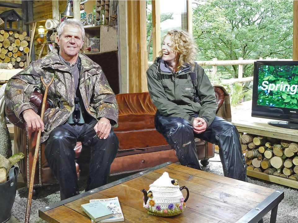 My appearance on BBC's SpringWatch with Kate Humble